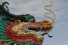 Colorful Dragons Royalty Free Stock Photography