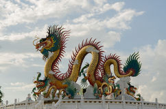 Colorful Dragons Royalty Free Stock Image
