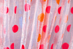Colorful draperies as background Royalty Free Stock Photos