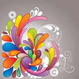 Colorful_drawing Royalty Free Stock Photos