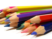 Colorful drawing pencils Stock Image