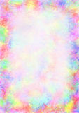 Colorful drawn textured background with brushstrokes. Royalty Free Stock Photo