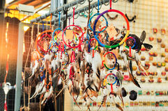 Colorful Dream Catcher Royalty Free Stock Photography