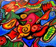 Colorful dream Stock Photos