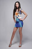 Colorful dress. Royalty Free Stock Photo