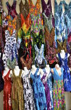 Colorful dresses for women Royalty Free Stock Photos