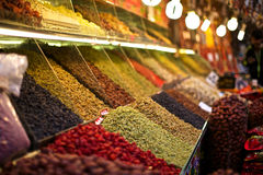 Colorful dried fruit Royalty Free Stock Images