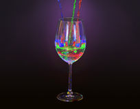 Colorful drink Stock Images