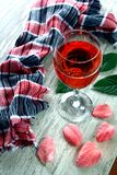Colorful Drink in a goblet Royalty Free Stock Image