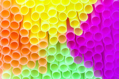 Colorful drinking straw Royalty Free Stock Image