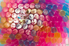 Colorful drinking straws Royalty Free Stock Photography