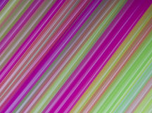 Colorful drinking straws background. Stock Images