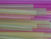 Colorful drinking straws background. Abstract colorful background. Close-up of straw tubes. Colorful drinking straws background Royalty Free Stock Image