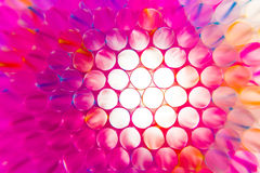 Colorful drinking straws close-up background Stock Images