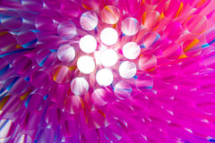 Colorful drinking straws close-up background Stock Photo