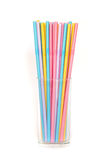 Colorful drinking straws. Stock Photography