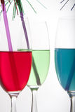 Colorful drinks Stock Photos