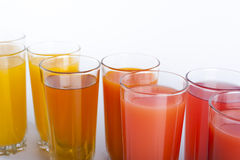 Colorful drinks Royalty Free Stock Photography