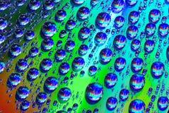 Colorful  drops Stock Photo