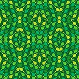 Colorful drops on dark green background. Spring abstract vector seamless pattern for textile, prints, wallpaper etc. vector illustration