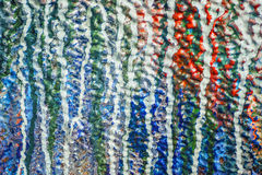 Colorful drops of wall painting macro texture background.  royalty free stock images