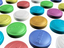 Colorful drug Royalty Free Stock Photography