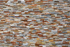 Colorful Dry Stone Wall. Royalty Free Stock Photo