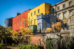 Colorful Dublin Castle Stock Image