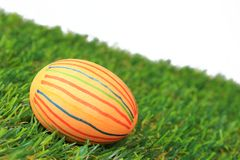 Colorful dyed easter egg Royalty Free Stock Images