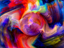 Colorful Dynamics Royalty Free Stock Photos