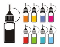 Free Colorful E-liquid Stock Images - 49847244