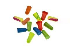 Colorful Ear Plugs Stock Photos