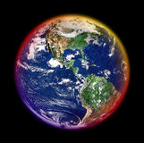 Colorful earth Stock Photo