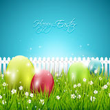 Colorful Easter background Royalty Free Stock Images