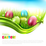Colorful Easter background Royalty Free Stock Photography