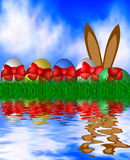 Colorful Easter Background Royalty Free Stock Photo