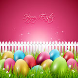 Colorful Easter background Royalty Free Stock Photos