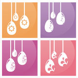 Colorful easter backgrounds Royalty Free Stock Photos