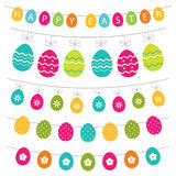 Colorful Easter banner decoration Royalty Free Stock Photography