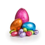 Colorful Easter candies Royalty Free Stock Images