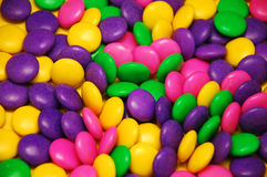 Colorful easter candy mix. Assorted colorful easter candy mix Stock Images