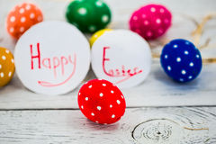 colorful Easter composition Stock Photo