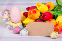 Colorful Easter Decoration Stock Photography