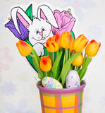Colorful Easter Decoration Stock Image