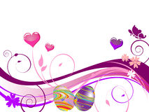 Colorful easter design Royalty Free Stock Photography