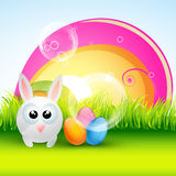 Colorful easter design Stock Photography