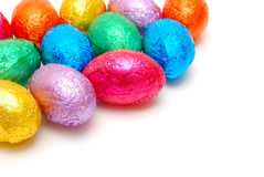 Colorful easter egg background Royalty Free Stock Photo