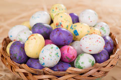 Colorful Easter Egg Candy Stock Photos