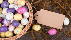 Colorful Easter Egg Candy Stock Image