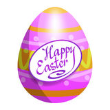 Colorful Easter egg for Easter holidays design. Easter vector Royalty Free Stock Photo